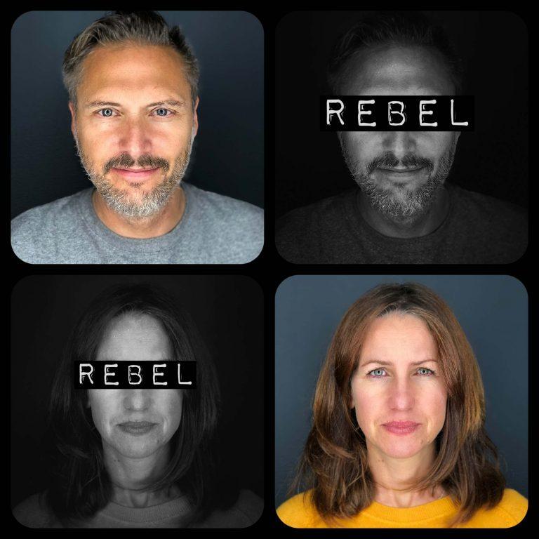 Famous Rebel Colin. Famous Rebel Caroline. Devon-based Marketing Consultants.